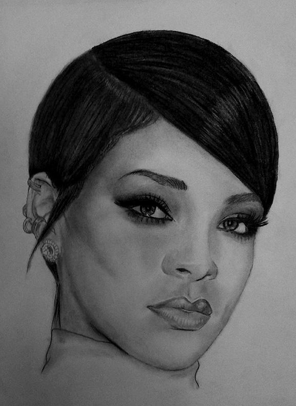 Rihanna by tmac1965